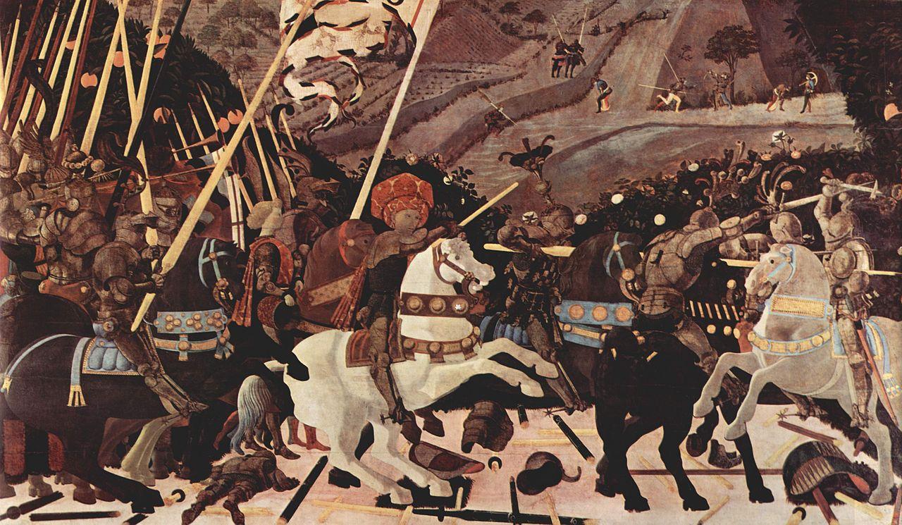 La bataille de San Romano
